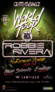 Robbie Rivera Chile 2013 (September 6th)Hotel W
